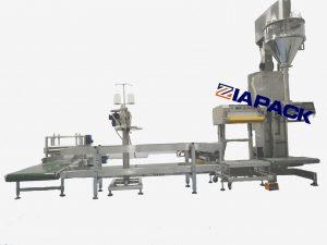 Semi-automatic powder weighing filling machine
