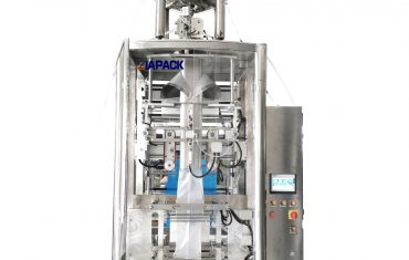 Automatic vertical bag forming filling sealing machine for paste